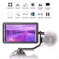 "Feelworld F6 5.7"" IPS 4K HDMI Video Camera Field Monitor for DSLR Sony Panasonic"