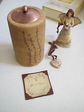 Gift Set Ornament Grandmother CANDLE TEALIGHT HOLDER Pendant 4 pieces