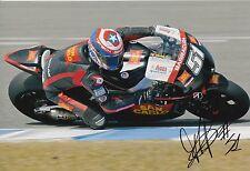 Michele Pirro firmato a mano SAN CARLO HONDA GRESINI 12x8 foto MotoGP.
