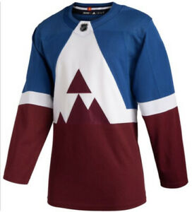 Adidas Colorado Avalanche Sz 58 Stadium Series Air Force Academy Jersey new