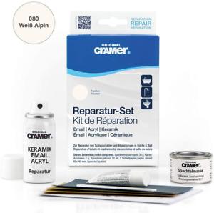 Cramer Ceramic / Enamel Repair Kit for Baths,Sinks and Counter Tops-ALPINE WHITE