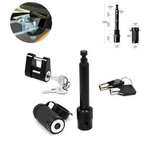 1Set Hitch Coupler Lock Towing Receiver Locking Trailer Tow Latch Tongue Pin Kit