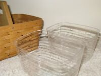 Longaberger SET OF 2 PROTECTORS for Small Handy Helper Basket ~ Ready to Ship