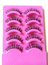 5 pairs Fashion clear band False eyelashes Thick eye lashes Daily eyelashes  TDC