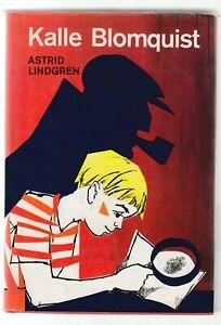 Libro Kalle Blonquist Astrid Lindgren IN TEDESCO 1988 SC78
