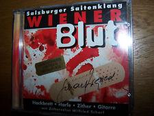 Wiener Blut CD Salzburger Saitenklang Erstauflage limitiert handsigniert