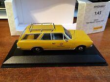 Minichamps #010555 1/43 SCALA Opel Olympia Rekord C Caravan-DEUTSCHE POST