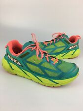 HOKA ONE ONE W Clifton 1 Women's Size 10.5 Running Shoes Sneakers Retro Colors
