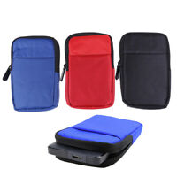 """1Pc 2.5"""" External USB Hard Drive Disk HDD Carry Case Cover Pouch  `.J Nw"""