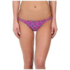 O'NEILL OCEAN BRAIDED BIKINI PANT SWIM BOTTOMS BERRY MULTI PURPLE PINK SMALL $38