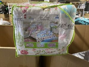 Your Zone Parisian Icons Kids Warm Soft Cozy Bed-In-A-Bag Bedding Set, Full New