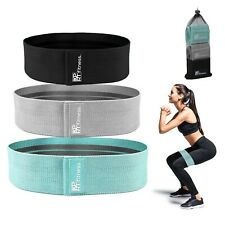 XPRT Fitness Resistance Bands Set of 3 For Booty Butt Hip Anti Slip Bands Set
