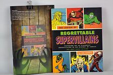 THE LEGION OF REGRETTABLE SUPER VILLAINS  HC BOOK MORRIS LOOT CRATE EXCLUS NEW