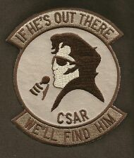 AIR FORCE CSAR IF HE'S OUT THERE WE'LL FIND HIM ELVIS MILITARY PATCH PARARESCUE