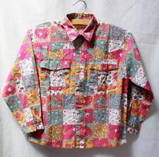 Chemise fillette vintage 1980 Authentic & Original 6 ans