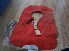 Vintage 1970s  Life Jacket Historical Aviation aircraft collectable