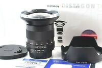 【 Unused 】 Carl Zeiss Distagon T* 21mm f/2.8 ZF.2 Lens For Nikon from JAPAN
