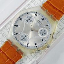 swatch skin chrono flatzone honey suyk100d orologio uomo raro da collezione rare