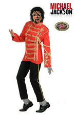 Micheal Jackson Military Red Jacket Adult Size S