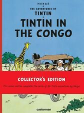 Tintin In the Congo (NEW HARDCOVER BOOK)