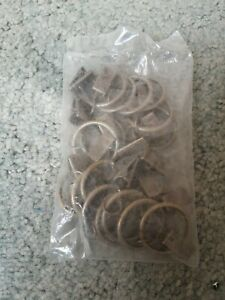 Metal Curtain Rings With Clips