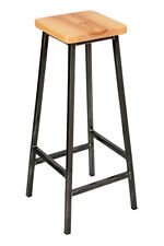 Steel Frame Industrial Bar Stool