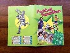Álbum Football Súper Stars  Edic Panini 1984 Complet