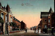 1916 Feldpostkarte Feldpost aus La Bassée Rue de Gare Bahnhof gel. n/ Claußnitz