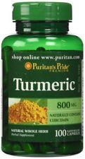 La Cúrcuma Curcumina 100s 800 mg muchos beneficios Inflamación Artritis Dolor en las articulaciones