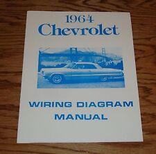 1964 Chevrolet Passenger Car Wiring Diagram Manual 64 Chevy