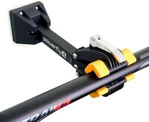 POWERFLY Wall Mount Bike Bicycle Storage Repair Rack Bracket Clamp Hanger Stand