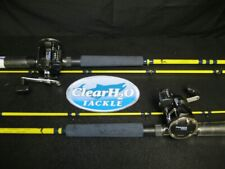 "2PK OKUMA LINECOUNTER MA-20DX REEL EAGLE CLAW STARFIRE 7'6"" MED LT 2PC ROD COMBO"