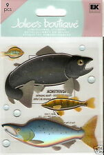 Jolee's Boutique Dimensional Stickers Fish.