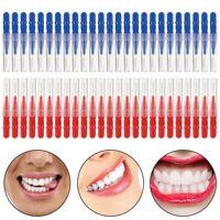 Pinceau 50 pcs Cure dent Tete de soie dentaire Oral Dentaire Soin des gencive V5