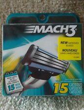 Gillette Mach3 Mens Razor Blade 15  Cartridge