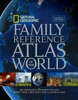 National Geographic Family Reference Atlas of the World, Hardcover by Nationa...