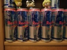 5 unopened/unused LIMITED EDITION SFV RED BULL CANS Street Fighter 30th RETIRED