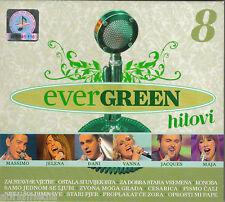 Evergreen 8 Hitovi CD Vanna Jacques Houdek Maja Massimo Djani Jelena Radan Cro