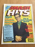 SMASH HITS February 79 Rare Issue No.4 Costello, Elton, Clash , Good condition