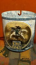 Lord of the Rings - Arwen and Frodo on Horseback Figure - New in Packaging