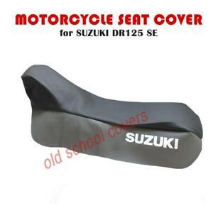 Motorrad Sitzbezug Suzuki DR125 Se Zweifarbig Grau