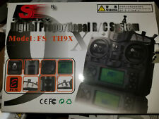 FlySky 2.4ghz  FS-TH9X CH RC Transmitter Radio, 3DR Edition Multirotor Telemetry