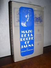 Mazo de La Roche of Jalna by Donald Hambleton  (HC,DJ,1966,1'st Edition)