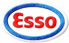 ESSO Motor Oil Gas Station Logo Racing Patch Iron on Suit Jacket T-shirt Cap Hat