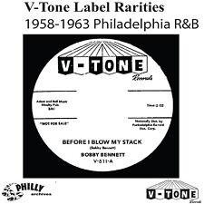 V-Tone Label Rarities-Fashions, Casanovas, Bobby Bennett-Unreleased 1958-63-CD-R