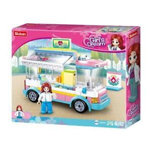 Sluban M38-B0797 Girls Dream Ambulance Mobile Blutspende