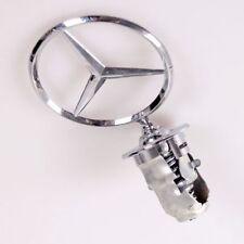 Mercedes BENZ Hood Badge Head Emblem SPRING MOUNTED  W124 W123 W126 W201