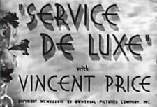 SERVICE DE LUXE  ~  Constance Bennett, Vincent Price 1938  region free DVD