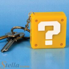 Officially Licensed Super Mario Question Block Keyring Light with Sound Effects