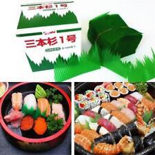 Japan Sushi Decoration Anti Bacterial Long Grass Green Leaf Divider HS